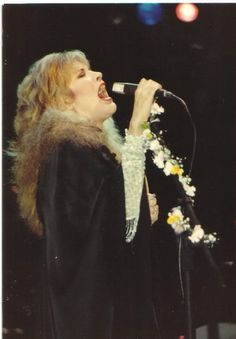 """""""If you have stage fright, it never goes away. But then I wonder: is the key to that magical performance because of that fear?"""" -Stevie Nicks"""