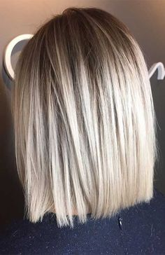 Are you going to balayage hair for the first time and know nothing about this technique? We've gathered everything you need to know about balayage, check! Balayage Straight Hair, Blonde Balayage Bob, Blonde Ombre, Ash Blonde, Brown Balayage, Platinum Blonde, Ombre Bob, Caramel Blonde, Red Ombre