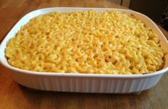 Baked Mac and Cheese - the ultimate comfort food!