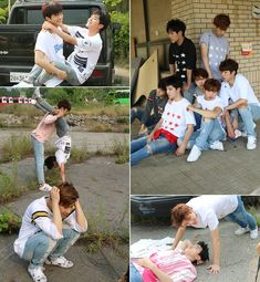 "Poor Leader Gyu seems like ""I can't take care of these kids now!"""