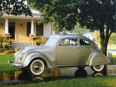 1934 DeSoto Airflow Coupe.