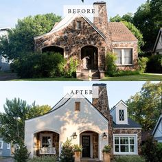 Home Remodel Before And After Exterior Makeover Fixer Upper 27 Ideas Home Exterior Makeover, Exterior Remodel, Fixer Upper Dekoration, Home Renovation, Home Remodeling, Basement Renovations, Joanna Gaines Decor, Ikea, Fixer Upper Decor