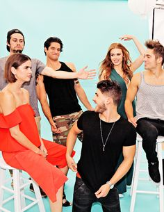 the cast of teen wolf for tv guide