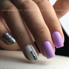glitter gel nails which look gorgeous. Latest Nail Designs, Latest Nail Art, Nail Art Designs, Glitter Gel Nails, Gelish Nails, Orange Nail Designs, Gel Nagel Design, Pretty Braids, Nagel Gel