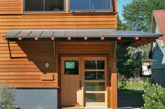 Front entryway | West Lantern Residence, a sustainable LEED home | Sun Valley/Ketchum, ID