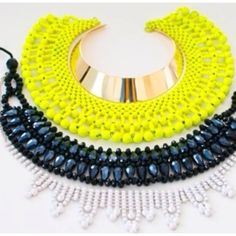 statement necklace bling.