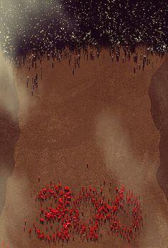 Awesome Art We've Found Around The Net: 300, Drive, Hellboy, Mario, Scarface - Movie News | JoBlo.com