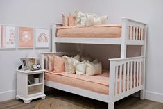 Styled for Bunk Beds – Beddy's Make Your Bed, How To Make Bed, Floral Bedroom Decor, Boho Decor, Beddys Bedding, Rainbow Bedding, Euro Pillow Covers, Zipper Bedding, Feather Pillows