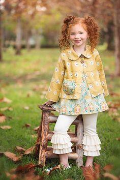 Aspiring Children's Place Baby Girl Bottom Lined Ruffle Bottom Jeans Size 6-9 Months Girls' Clothing (newborn-5t)