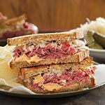 Reuben Sandwich Recipe (and easy sauce)