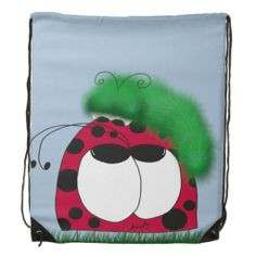 Uncommon Friends Drawstring Backpack. $15.26
