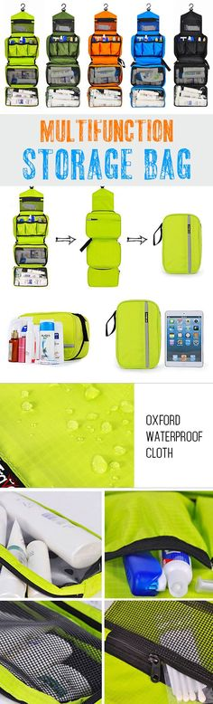 Travel Storage Bag Oxford Waterproof Cloth Multifunction Storage Bag For Woman Men