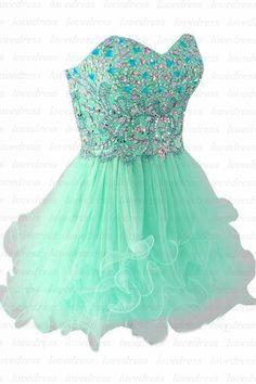 Green homecoming dresses, short homecoming dresses, cute homecoming dresses…