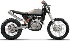 photoshopped KTM EXC with a (modified) custom Triumph seat and tank Dominator Scrambler, Scrambler Custom, Custom Motorcycles, Custom Bikes, Tracker Motorcycle, Scrambler Motorcycle, Moto Bike, Motorcycle Design, Triumph Scrambler