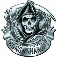 Hebilla cinturón Sons of Anarchy. Reaper