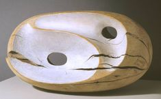 British sculptor Barbara Hepworth, 'Tides I' 1946 Art Sculpture, Modern Sculpture, Abstract Sculpture, Abstract Art, Metal Sculptures, Bronze Sculpture, Organic Sculpture, Sculpture Ideas, Barbara Hepworth