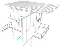Indestructable Cabin: Steel-Clad Apocalypse Home on Stilts