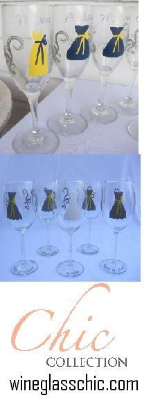 Bridesmaid Gifts, Wedding Favors, $10 each