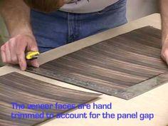Part 2   Ebony Wood Veneer Cabinet From Start To Finish.   Http:/