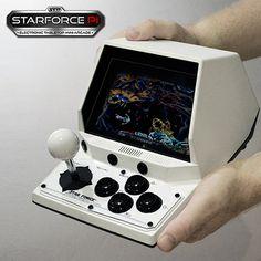Portable Raspberry Pi Arcade Machine: Starforce Pi