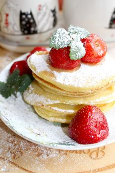 Pancakes, Good Food, Food And Drink, Cooking Recipes, Tasty, Sweets, Meals, Breakfast, Diet