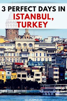 Heading to the incredible city, Istanbul in Turkey for 3 days? You have made a great choice! This Istanbul itinerary will guide you to the best things to do and explore in this beautiful city in 3 days | ISTANBUL ITINERARY | Istanbul in 3 Days | Istanbul Turkey | How to spend 3 days in Istanbul
