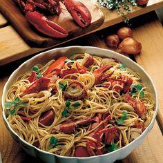 Recipe for Spaghetti With Lobster : La Cucina Italiana #FiberPasta #fitness #alimentazione #mangiaresano #nutrizione #alimentazionesana #dietasana #benessere #salute #dimagrimento #dieta #sport #diabete #colesterolo