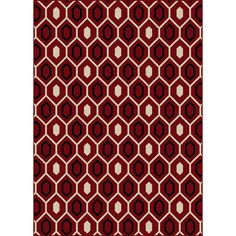 'Ashley' Contemporary Geometric Area Rug (5'5 x 7'7)