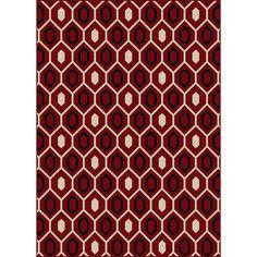 'Ashley' Contemporary Geometric Area Rug (5'5 x 7'7)