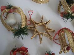 Vintage Danish Christmas Ornaments Handmade by GrandmasJunknStuff, $20.00
