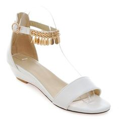 SHARE & Get it FREE | Casual Solid Color and Metal Design Women's SandalsFor Fashion Lovers only:80,000+ Items·FREE SHIPPING Join Dresslily: Get YOUR $50 NOW!