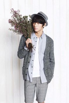 By Special Request -- Guys' Fashion Looks!  Gongchan of Korean Group B1A4.  So photogenic!   -Lily. #asianfashion, #guys-fashion