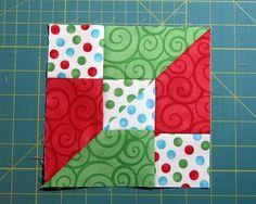 Accidental Quilt Block Correct