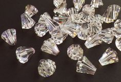 Rare Vintage Swarovski Beads 20 Vintage by CreationsByDevlin, $19.00