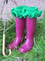 Super Ruffle Boot Sock, Liner, and Cuff Knitting Pattern Download