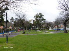 Elvas. Zona de juegos infantiles