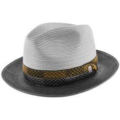 Andover - Stetson Straw Fedora Hat - TSANDV