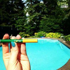 elektroninė cigaretė, baseinas