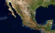 México, áreas protegidas