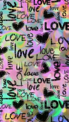 Colorful LOVE, made by me