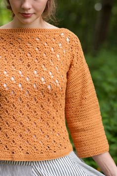 marigold sweater - $6.00 : Quince and Company, American Wool Yarn