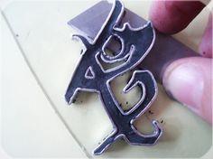 Tutorial fimo, como hacer las runas de los cazadores de sombras. eltocadordecenicienta