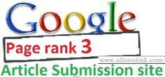 Article Submission Sites, Article Sites, Google Page, The Search, Press Release, Submissive, Search Engine, Seo