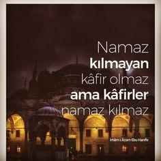Kafirler namaz kılmaz!  #namaz #kafir #müslüman #islam #emir #imamıazam #ebuhanife #ilmisuffa