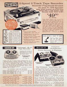Radio Shack catalog from 1961