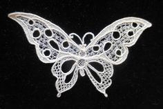 NeedleLaceTalk.ning.com - 'Halas Butterfly' - Added by Loretta Holzberger (on Jan 7, 2014)