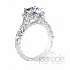 Riddle's Jewelry Ladies Parade™ White Gold Diamond Semi-Mount (16420166)
