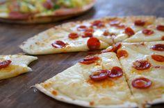Skillet Pizzas - Snack Recipes | AmateurKitchen.TV
