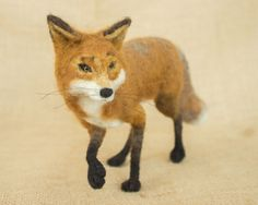 Connor the Fox by The Woolen Wagon