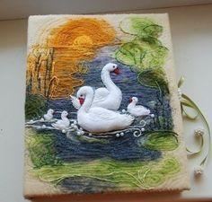 Felted soap - Mug G Felted Wool Crafts, Felt Crafts, Wet Felting Projects, Felted Soap, Felt Pictures, Donia, Wool Art, Felt Birds, Fabric Birds